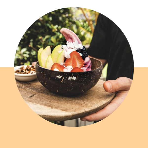 An image of a Cocowhip breakfast fruit bowl