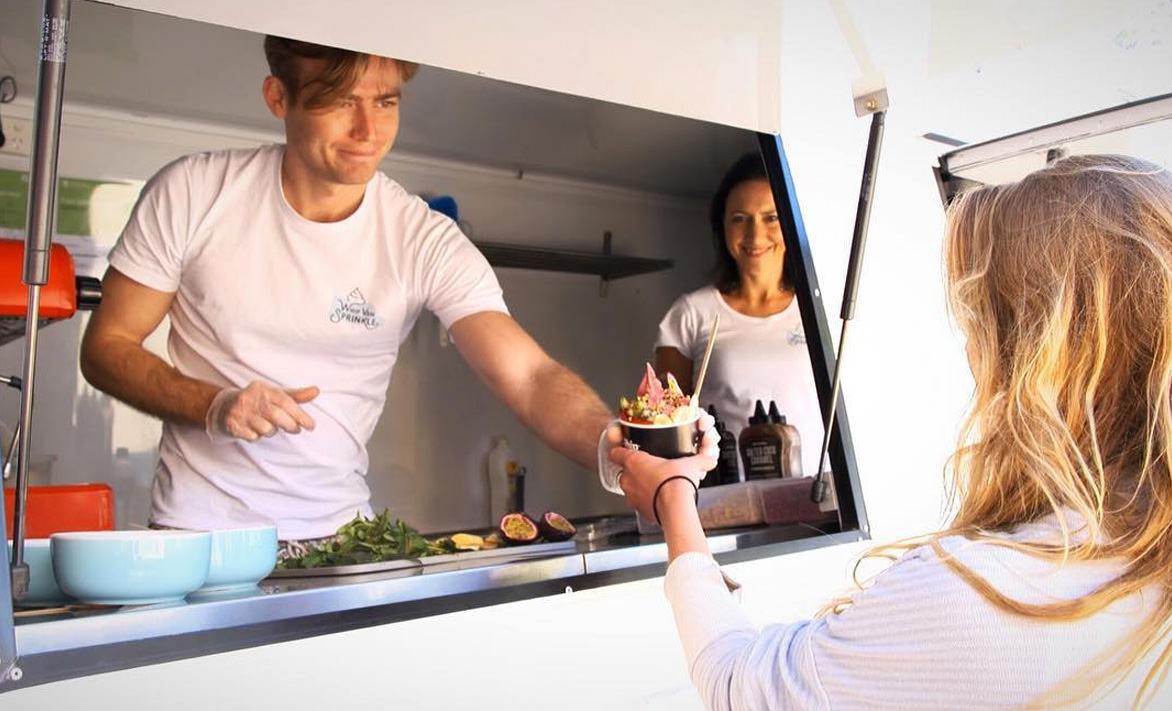 A foodtruck selling Cocowhip